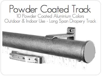 Powder Coated Drapery Hardware