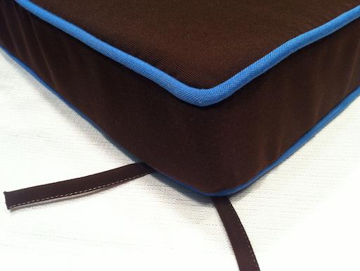 Sunbrella outdoor canvas cushion