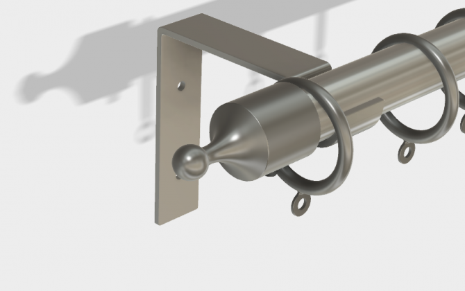 Wall-mount-stainless-steel-rod