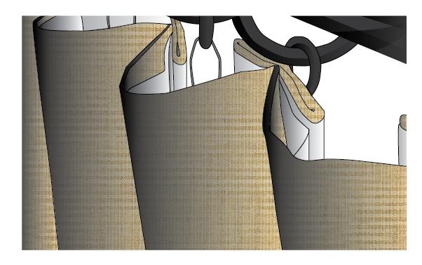 Sunbrella Spectrum Inverted Box Drapes and Curtains