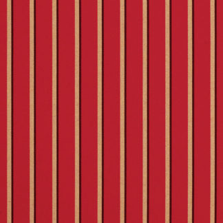 Sunbrella Canvas Crimson Cocoa Stripe 5603-0000 outdoor fabric