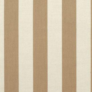Sunbrella Canvas Maxim Heather Beige Stripe 5674-0000 outdoor curtain and drapery fabric
