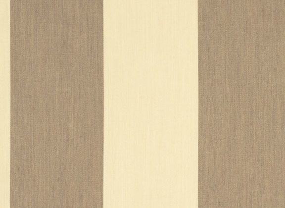 Sunbrella Canvas Regency sand Stripe 5695-0000 outdoor curtain fabric
