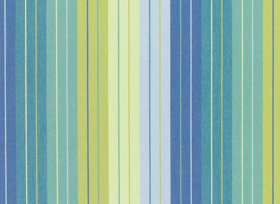 Sunbrella Canvas Seville Seaside Stripe 5608-0000 outdoor drape fabric