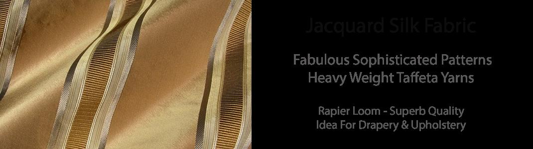 Silk Jacquard Taffeta
