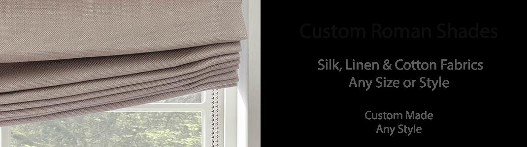 Silk Roman Shades