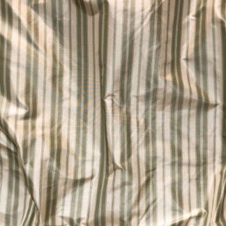 Silk Taffeta STRIPES - RUTH GREEN